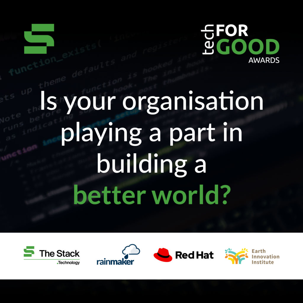 The Stack tech for good awards
