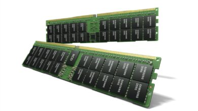 Photo of Samsung debuts new 7,200 Mbps DRAM module in a notable memory innovation for the data centre