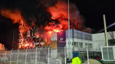 Photo of OVHcloud data centre destroyed in inferno. Restart scheduled for March 15, says founder.