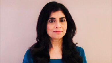Photo of IT Director Pooja Bagga on leading digital transformation across Royal Mail operations