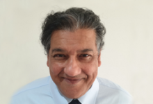 Photo of Daljit Rehal, CDIO, HMRC, on Raspberry Pis, unstructured data, and leadership