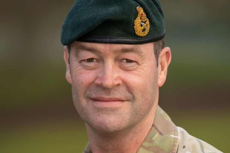 AI for defence speech, General Sir Patrick Sanders, Commander of Strategic Command